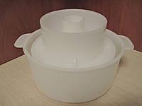 Форма для сыров(на0,5-1кг) с поршнем, фото 1