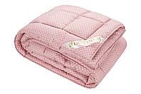"""Теплое одеяло с овечьей шерстью """"SAXON"""" полуторное 145х210 сатин_шерсть (214871-8), фото 1"""
