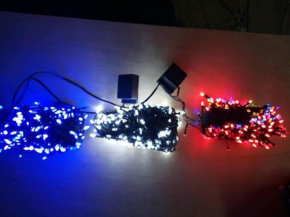 Новогодняя светодиодная гирлянда КОНУС 500LED теплый  белый, фото 2