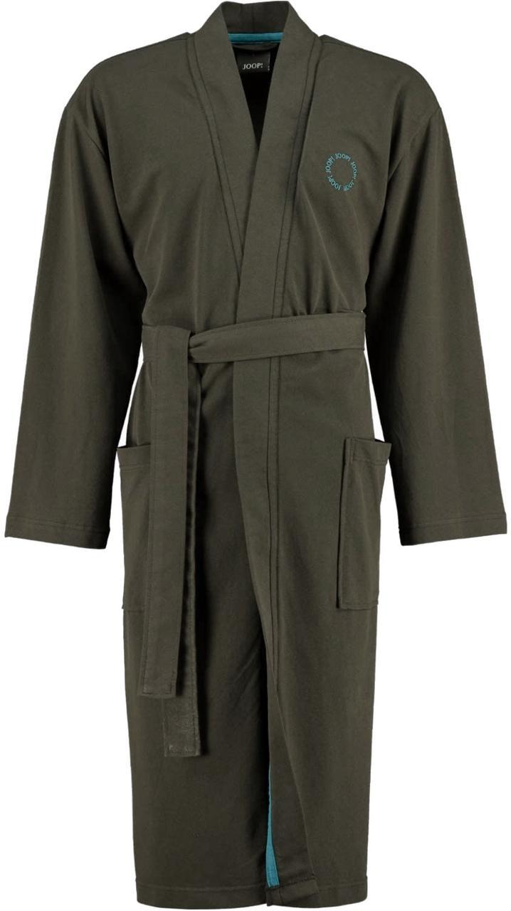 Серый легкий мужской халат JOOP! Большие размеры 52-66 Пике 100% Хлопок