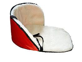 Матрацик підстилка на санки колір червоний