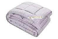 """Теплое одеяло с овечьей шерстью """"SAXON"""" полуторное 145х210 сатин_шерсть (214871-12), фото 1"""