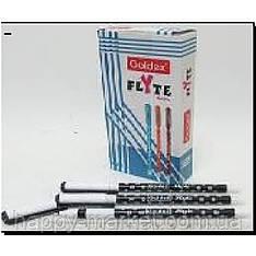 Ручка масленая №1273 Goldex Flyte черная с грипом
