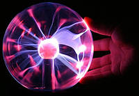 Плазменный шар Plasma ball medium 12 см 5 дюймов Катушка Тесла