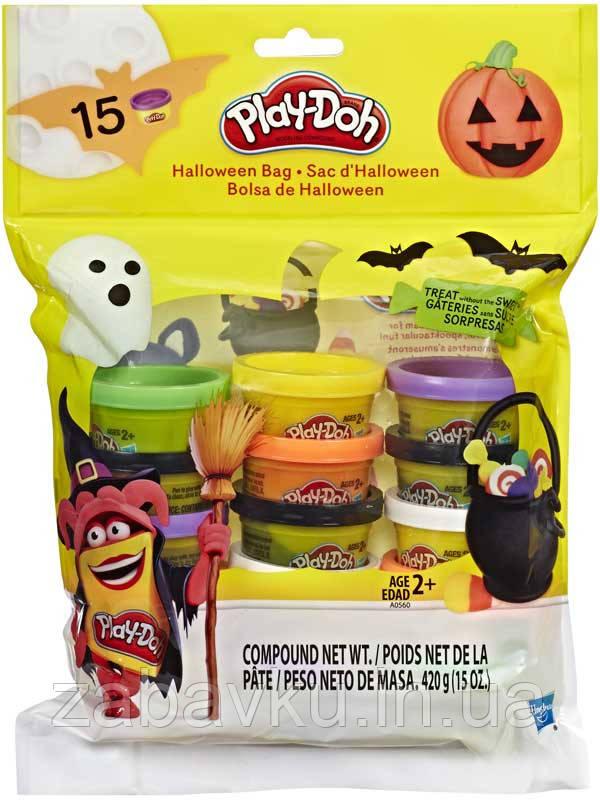 Набор тесто плей до Play-Doh Hasbro оригінал Набір Плей-До святкова упаковка 15шт