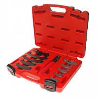 Набор ключей серповидных для круглых шлицевых гаек 19~165мм 4455 JTC