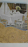 Скатертина атласна з трояндою 152 -220, фото 10