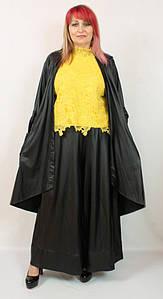 Турецкий женский нарядный костюм тройка больших размеров 54-64