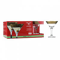 Набор бокалов для мартини 170мл 6шт Греческий узор ОСЗ GE03-410