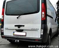 Фаркоп Renault Trafik 2001-  (Рено Трафик)