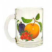 Кружка чайная 320мл ОСЗ фрукты MIX 8131 цена за 24шт., фото 1