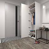 Шкаф для одежды, пенал с штангой и двумя полками в прихожую S-12, фото 2