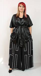 Турецкий женский нарядный костюм больших размеров 52-64
