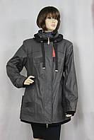 Куртка женская кожзам Волна