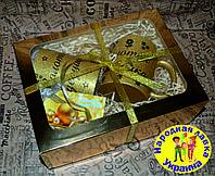 Подарочный набор для бабушки и дедушки. Чашки парные. Красивый и полезный подарок.
