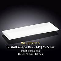 Блюдо для суши/канапе (Wilmax, Вилмакс, Вілмакс) WL-992016