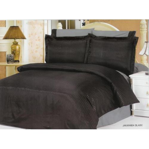 Комплект постельного белья Le Vele Jakaranda Black 200 x 220