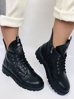 Натуральный мех. Люкс качество. Женские зимние ботинки. Натуральная кожа .Турция.Evromoda Р.36,37