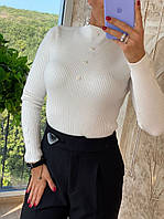 Гольф женский стильный, белый,  211-0316-2