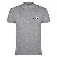 Мужское поло Форд, футболка с воротником Форд