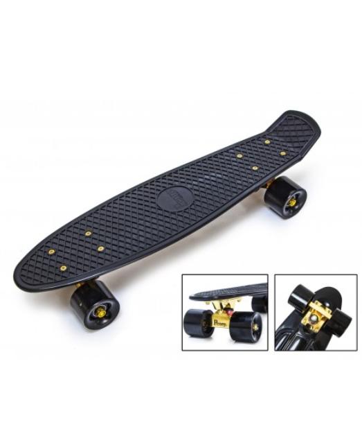 Penny Board Black Gold Підвіска, матові колеса