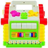 Розвиваюча музична іграшка Чарівний будиночок у коробці 24*23*23см, фото 2
