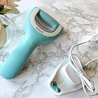 Роликовая Пилка Scholl USB водозащитная + дополнительный ролик Comfort Smooth