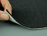 Карпет автомобильный Черный самоклейка (лист 144х100 см), толщина 2.2 мм, плотность 300 г/м2, фото 1