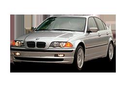 Реснички на фары для BMW (БМВ) 3 E46 1998-2006