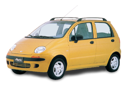 Реснички на фары для Daewoo (Дэу) Matiz M100 1998-2004