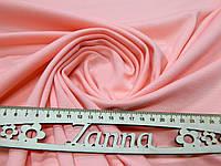 Трикотажная ткань джерси светло-розового цвета, фото 1