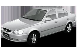 Реснички на фары для Hyundai (Хюндай) Accent/Verna 2 1999-2006