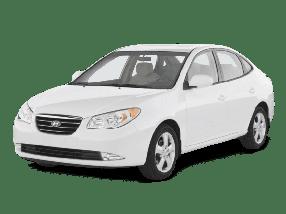 Реснички на фары для Hyundai (Хюндай) Elantra 4 (HD) 2006-2010