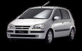 Реснички на фары для Hyundai (Хюндай) Getz 2002-2011