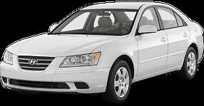 Реснички на фары для Hyundai (Хюндай) Sonata 5 (NF) 2004-2009