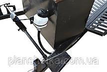 Прицеп (тележка) к мотоблоку Мотор Сич, МТЗ, WEIMA, Кентавр, Форте самосвальная с дисковыми тормозами 160х105, фото 2