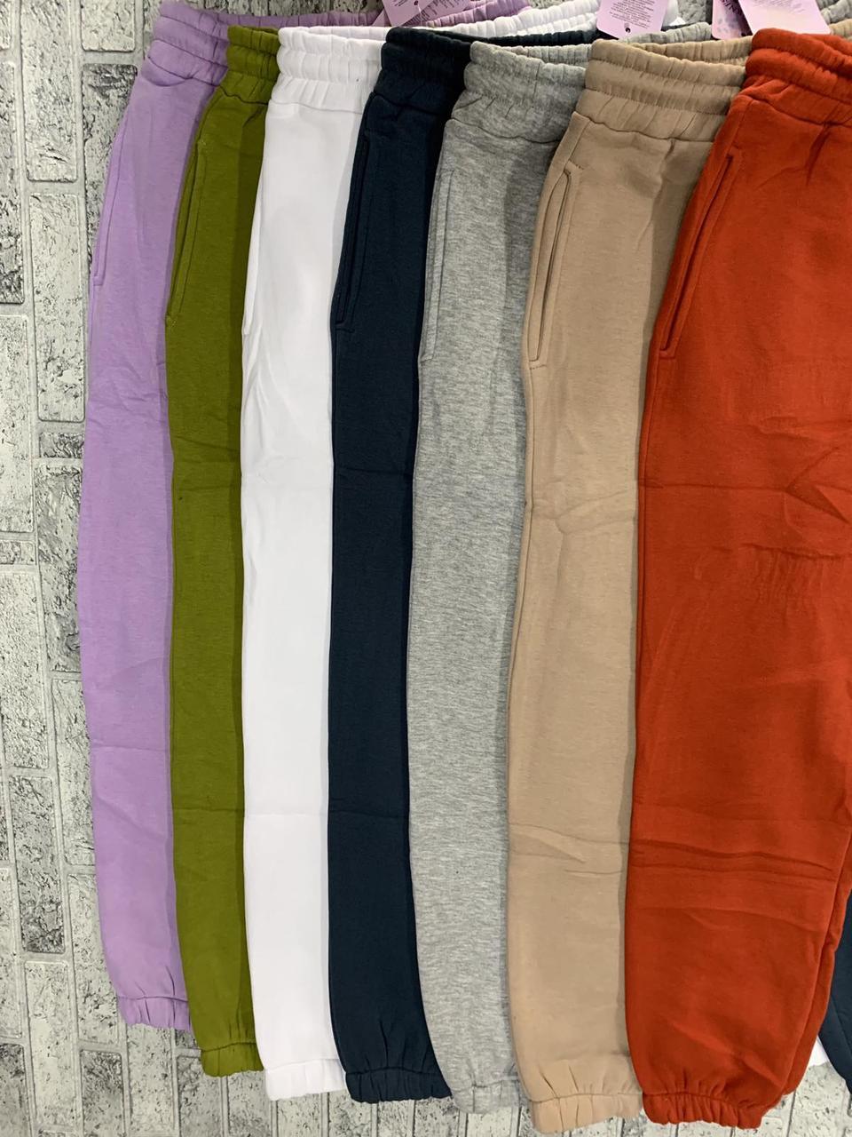Теплі жіночі штани на байку Туреччина S-L (в кольорах)