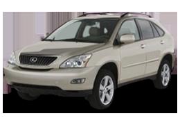 Реснички на фары для Lexus (Лексус) RX 2 (350) 2003-2009