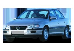 Реснички на фары для Opel (Опель) Omega B 1994-2003
