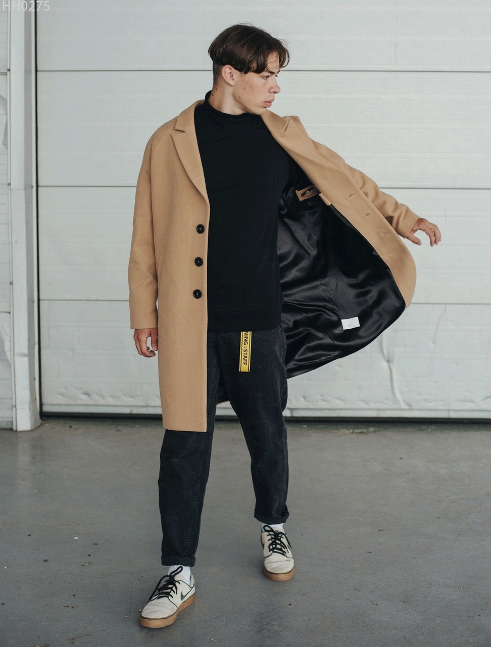 Пальто Staff beige