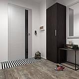 Шкаф для вещей, пенал модульный с полками в спальню S-13, фото 4