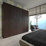 Шкаф для вещей, пенал модульный с полками в спальню S-13, фото 2