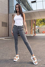 Женские джинсы Staff dabi gray, фото 3