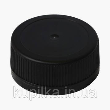 Крышка для ПЭТ бутылки чёрная