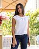 Жіноча блуза з круглим коміром річна, фото 6