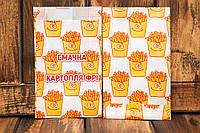 Упаковка для картофеля фри большая (150-200г) 256