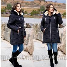 Якісна жіноча зимова куртка oversize! Батальні розміри: від 48 до 62!