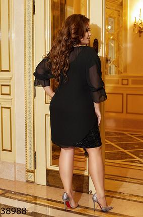Нарядное платье Размеры: 48-50, 52-54, 56-58, 60-62, фото 2