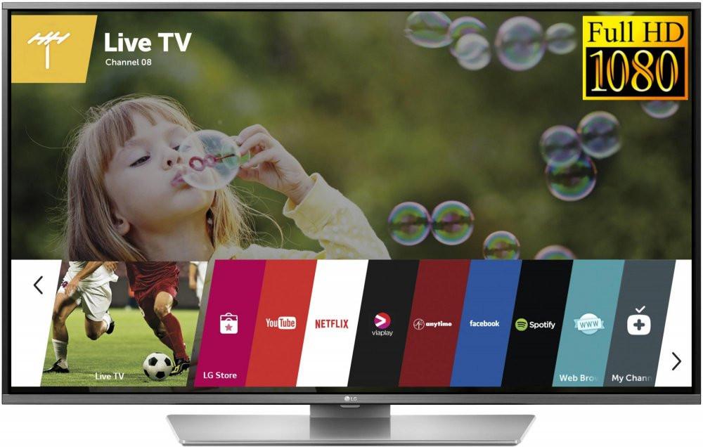Телевизор LG 43LF632V (450Гц, Full HD, Smart, Wi-Fi, DVB-T2/S2)