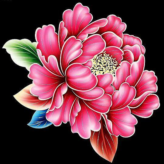 Алмазная вышивка мозаика Чарівний діамант Розовый пион КДИ-0024 25х25см 15цветов квадратные полная